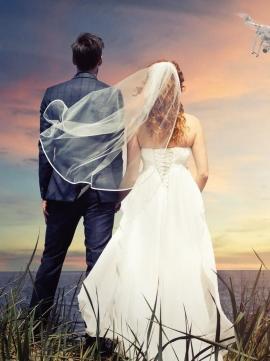 Le mariage par drone
